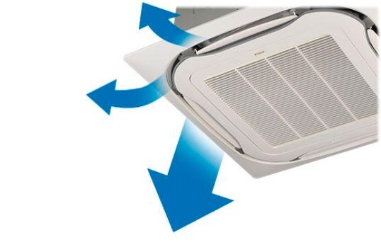 Dịch vụ thiết kế lắp đặt máy lạnh âm trần Daikin kiểu sang trọng cho cửa hàng,shop quần áo,showroom 4