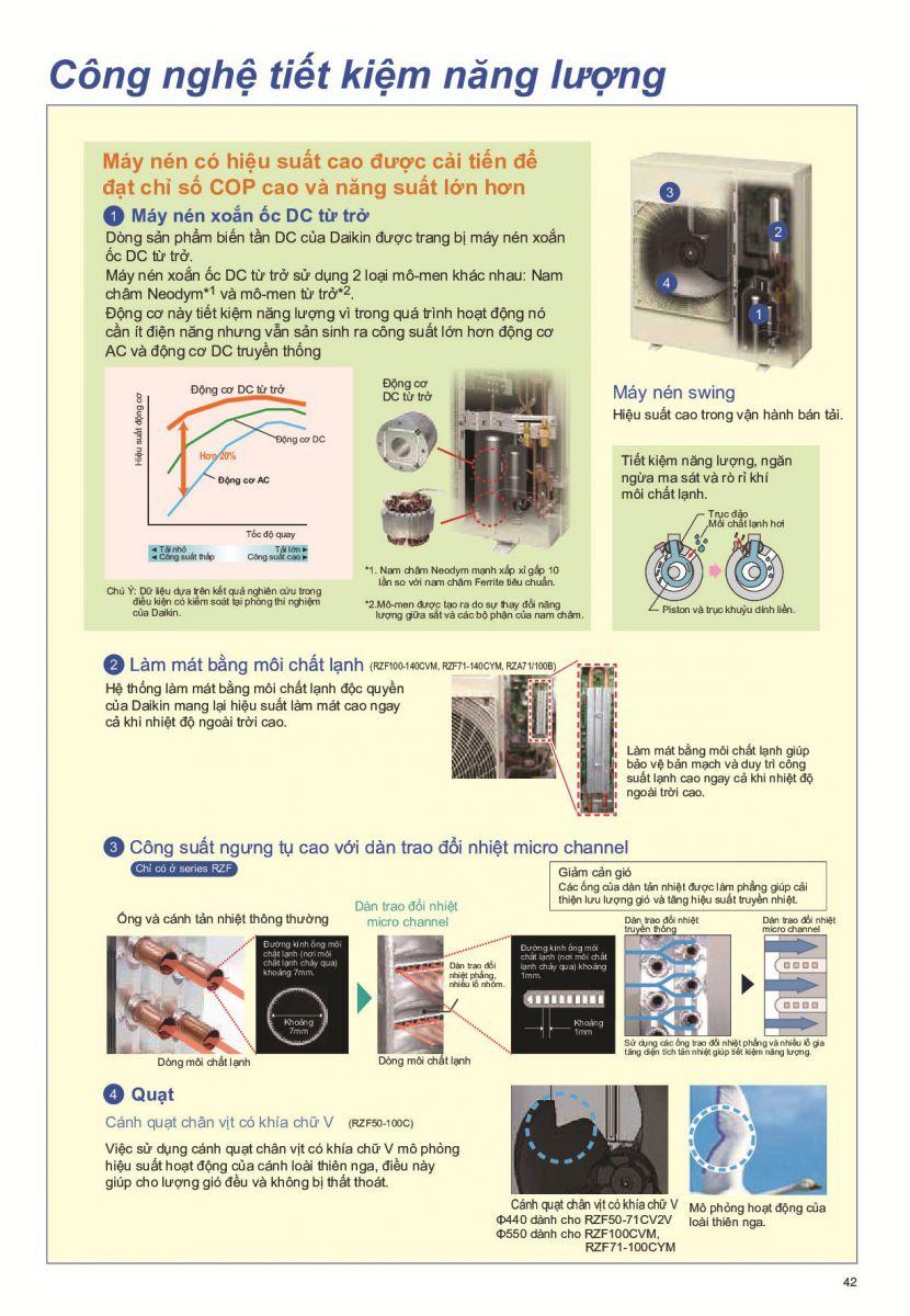 Máy lạnh âm trần Daikin FCF71CVM 24.200btu Gas R32 – Công nghệ Inverter tiết kiệm điện - 274726