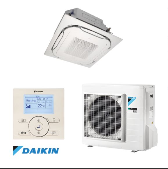 Dịch vụ thiết kế lắp đặt máy lạnh âm trần Daikin kiểu sang trọng cho cửa hàng,shop quần áo,showroom 2