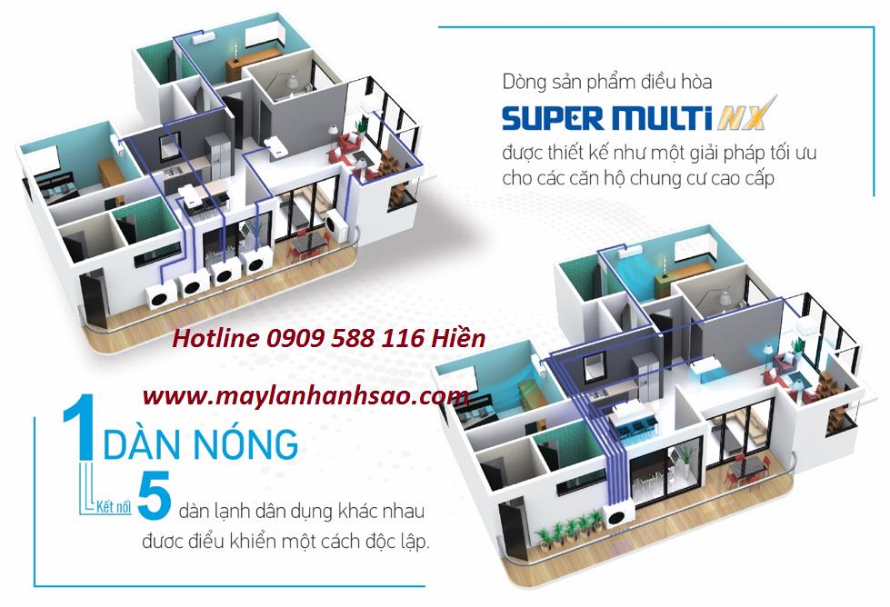 Điện lạnh Ánh Sao - Chuyên nhận cung cấp & thi công máy lạnh Multi Daikin cho căn hộ chung cư - 265808