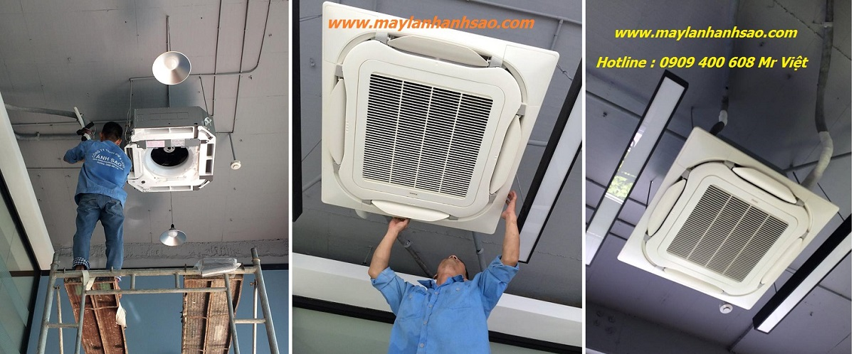 Dịch vụ thiết kế lắp đặt máy lạnh âm trần Daikin kiểu sang trọng cho cửa hàng,shop quần áo,showroom 10