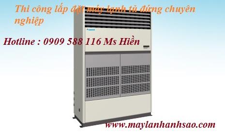 Nhà thầu chuyên thiết kế - lắp đặt máy lạnh tủ đứng Daikin FVGR - Máy lạnh chuyên lắp cho nhà xưởng