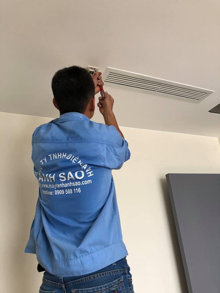 Dịch vụ tư vấn lắp đặt máy lạnh giấu trần cho biệt thự,căn hộ cao cấp,villa tại quận 7