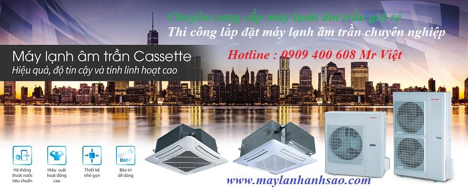 Bán giá tại kho máy lạnh âm trần Cassette - Khảo sát lắp đặt kiểu sang trọng thẩm mỹ