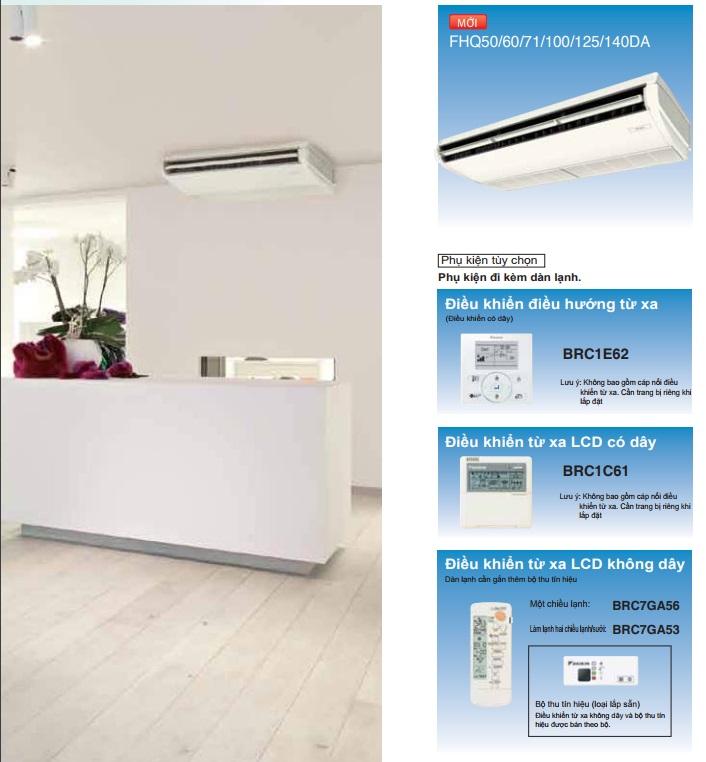 Máy lạnh áp trần Daikin Inverter FHA100BVMV/RZF100CVMV 4.0hp Gas R32 - Đại lý phân phối Ánh Sao - 265256