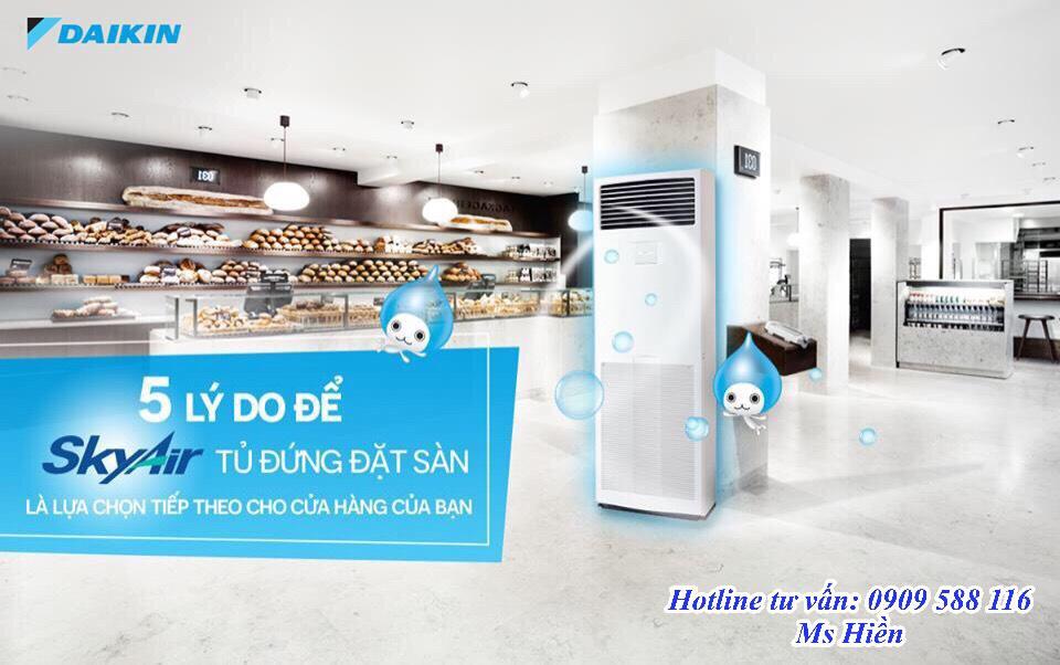 Máy lạnh tủ đứng Daikin chính hãng, giá gốc – Tổng đại lý phân phối sỉ