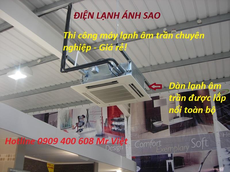 Đơn vị chuyên phân phối chính hãng - Thi công lắp đặt chuyên nghiệp giá rẻ máy lạnh âm trần Daikin